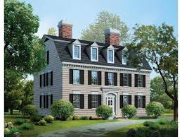 federal house plans eplans adam federal house plan 3965 square