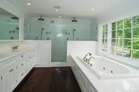 how to clean glass shower doors for a traditional bathroom with a