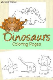 dinosaur coloring pages dinosaur activities kids dinosaurs and