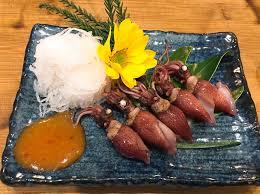 week end cuisine weekend special hotaruika aka firefly holy fish japanese