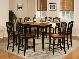 Black Lacquer Dining Room Furniture Dining Room Heavenly Ideas Dining Room Design Using Square Tall