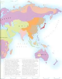 World Religions Map by Geographic Distribution Of World Religions