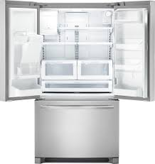 frigidaire fdbc2250ss 36 inch french door refrigerator with 21 cu