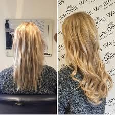 beaded hair extensions before after best hair extensions melbourne russian hair