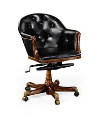 Small Leather Desk Chair Lovely Black Leather Desk Chair For Your Home Decorating Ideas