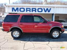 ford expedition red 1999 laser red metallic ford expedition xlt 4x4 44735278