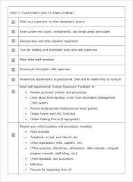 free office procedures manual template sample office manual 8