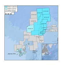 map east coast canada statoil successful bid for new licences offshore east coast canada
