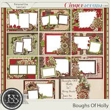 5x7 brag book gingerscraps pages and albums boughs of 5x7 brag