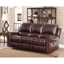 abbyson living berkshire 3 pc leather reclining furniture set