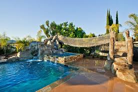 Playground Backyard Ideas 25 Spectacular Tropical Pool Landscaping Ideas