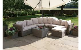 Rounded Corner Sofas Maze Rattan Winchester Rounded Corner Group