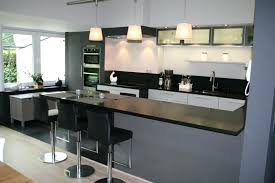cuisine avec bar table bar table cuisine du00e9co cuisine moderne avec bar avignon 1228