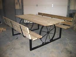 Plans For Outdoor Picnic Table by Best 25 Outdoor Picnic Tables Ideas On Pinterest Folding Picnic