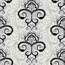 Brocade Home Decor by Chesapeake Vanessa Black Henna Brocade Wallpaper Chr11642 The