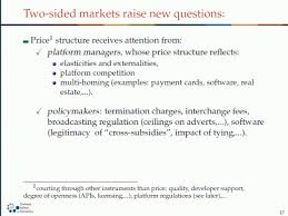Free Resume Critique Jean Tirole Two Sided Markets Feb 26 2013 Part 1