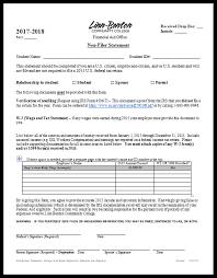 linn benton community college financial aid forms