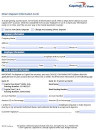 5 quickbooks direct deposit authorization form templates download