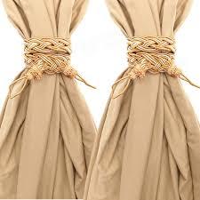 Tassel Curtain A Pair Tying Tassels Curtain Tie Back Handmade Curtain Cord