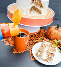 double layer pumpkin spice tres leches poke cake recipe