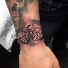 70 diamond tattoo designs for men precious stone ink
