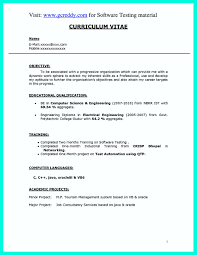 cv format for electrical engineer freshers dockers luggage spinner perfect computer engineering resume sle to get job soon