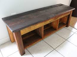 Wooden Storage Bench Plans by Reclaimed Wood Storage Bench Plans Reclaimed Wood Storage Bench