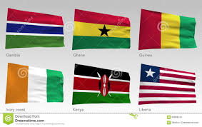 Kenya Africa Flag Animated African Flags Collection With Alpha Channel Gambia