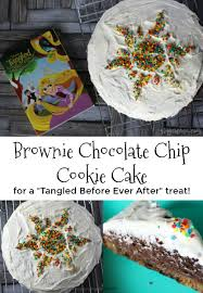 brownie chocolate chip cookie cake a special