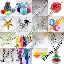 Indian Wedding Decorations Wholesale Hanging Paper Pompom Flower Indian Wedding Party Favors Wholesale