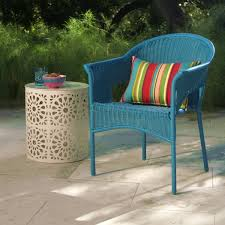 World Market Outdoor Chairs by White All Weather Wicker Stacking Tub Chairs Set Of 2 World Market
