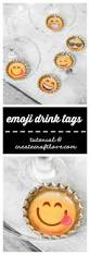 drink emoji diy emoji drink tags create craft love