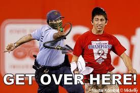 Get Over It Meme - image 227769 phillies tased fan know your meme