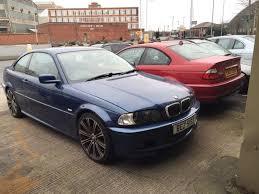 Bmw M3 E46 Interior Breaking Bmw E46 320i M Sport Coupe Blue M3 Wheel Sport Bumper