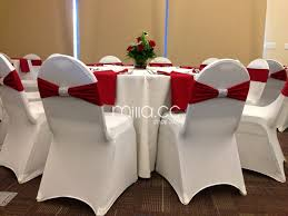 Chair Cover Sashes Wedding Spandex Chair Band With Diamond Buckle Spandex Chair Cover