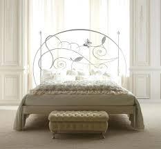 fer forgé chambre coucher lit adulte fer forge lit fer forge blanc 2 personnes lit en fer