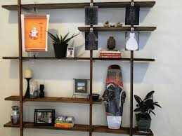 Pallet Floating Shelves by 60 Ways To Make Diy Shelves A Part Of Your Home U0027s Décor