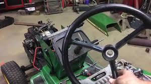 john deere 300 steering wheel removal youtube