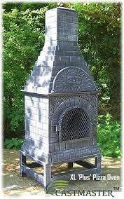 Fire Pit Pizza - cast iron chiminea pizza oven morso living outdoor cast iron pizza