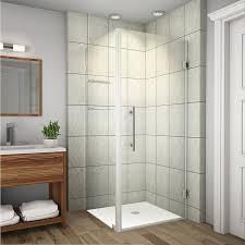 bathroom amazing shower stalls enclosures youll love wayfair