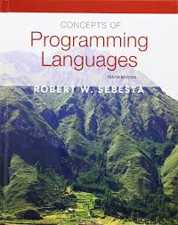 concepts of programming languages 10th edition robert w