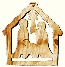 christmas tree ornament u2014 olive wood nativity sets and holy land art