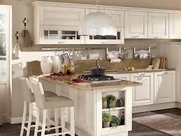 cuisine bois rustique design interieur cuisine bois classique esprit rustique blanche bar