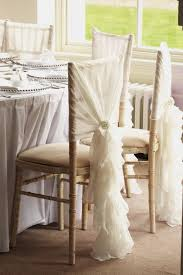 Chiffon Chair Sash Linen Chair Covers With Organza Sash In Newcastle And