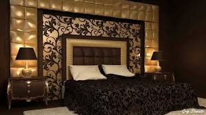 elegant and dramatic black and gold interior decorating ideas