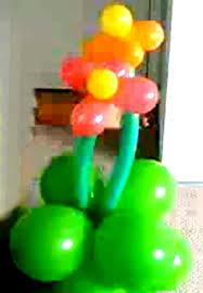 Balloon Centerpiece Ideas Balloon Decorations For A Garden Theme Party Balloon Decoration