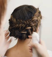 Types Of Braiding Hair Extensions by 61 Braided Wedding Hairstyles Brides