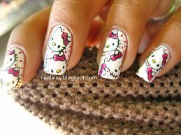 hello kitty nail designs for long nails 2015 reasabaidhean