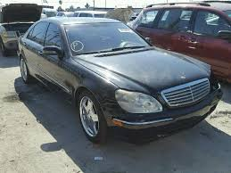 2002 mercedes s600 auto auction ended on vin wdbng78j52a275589 2002 mercedes