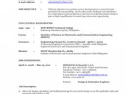 Job Resume Format 2015 by Current Resume Virtren Com